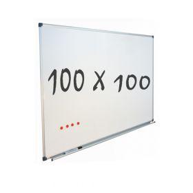 """Whiteboard """"Eco"""" – magnetisch – 100x100cm - quadratisch"""