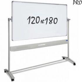 "Whiteboards ""Pro""– mobil – Emaille – doppelseitig – magnetisch – 120x180cm"