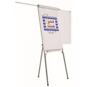 Flipchart 70 x 105 cm - Magnethaftend - mit 2 Papierhaltern