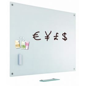 glassboard weiß 45x60 cm