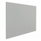 "Whiteboard ""Eco"" – Grau - 100x200 cm - ohne Rahmen - magnetisch"